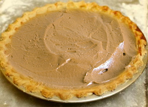 Creamy Custard Pie picture