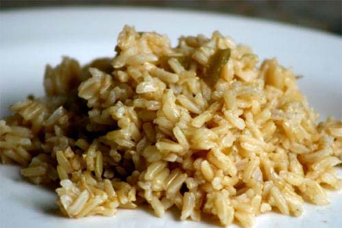 Creamy Green Rice picture