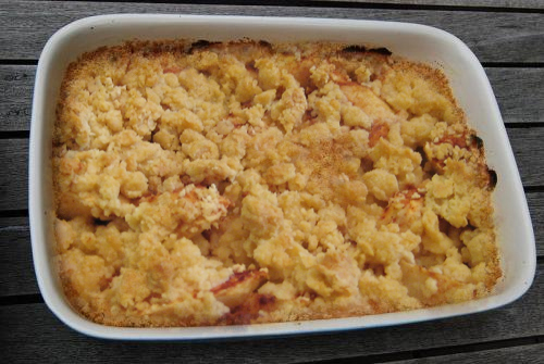 Crumble Topping picture