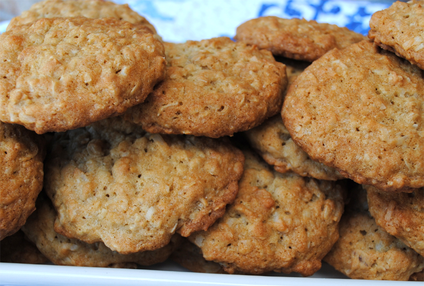 Crunchy Coconut Cookies picture