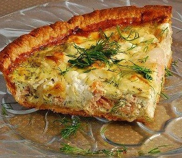 Crustless Crab Quiche With Curry Sauce picture