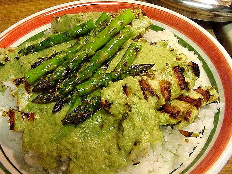 Curried Asparagus picture