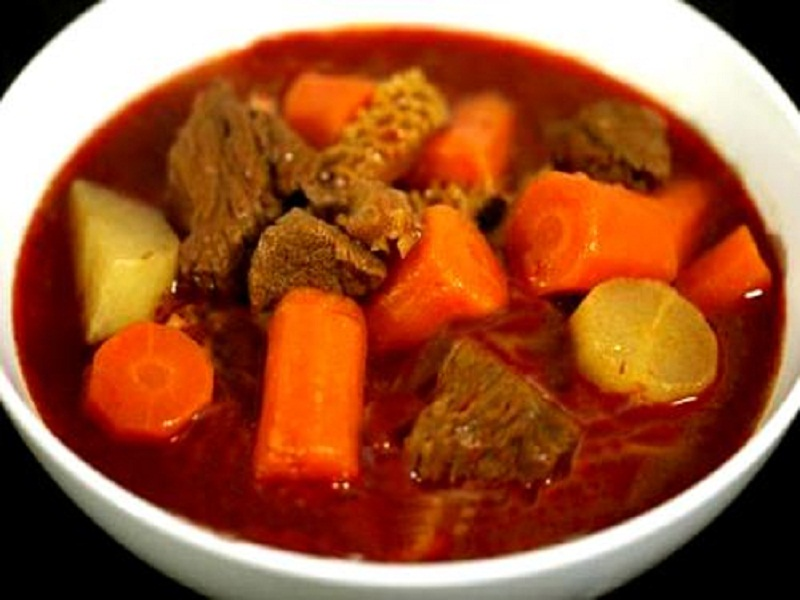 Curried Beef and Vegetable Stew picture