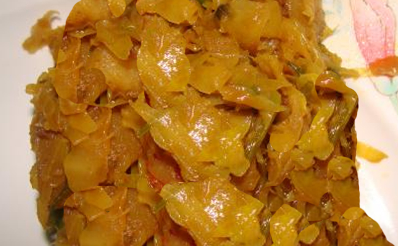 Curried Cabbage picture