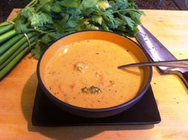 Curried Chicken Soup picture