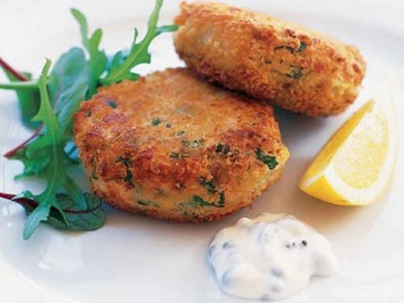 Curried Fish Cakes picture