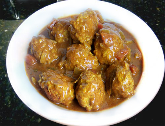 Curried Meatballs picture