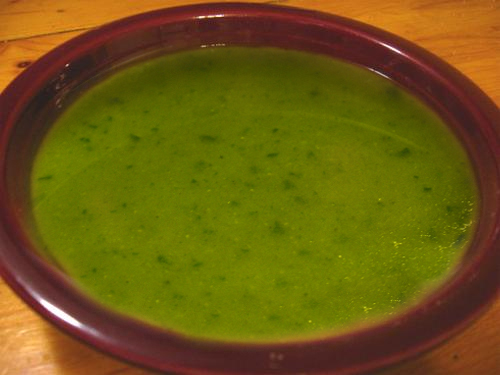 Curried Pea Soup picture