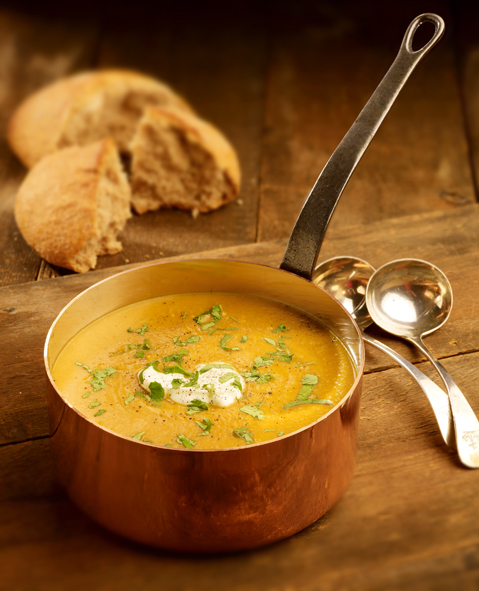 Curried Pumpkin & Persimmon Soup picture