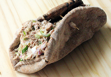 Curried Tuna Pita picture