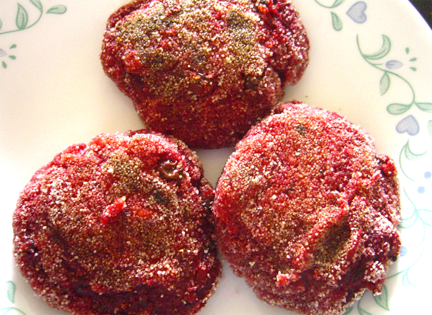 Beetroot cutlets picture