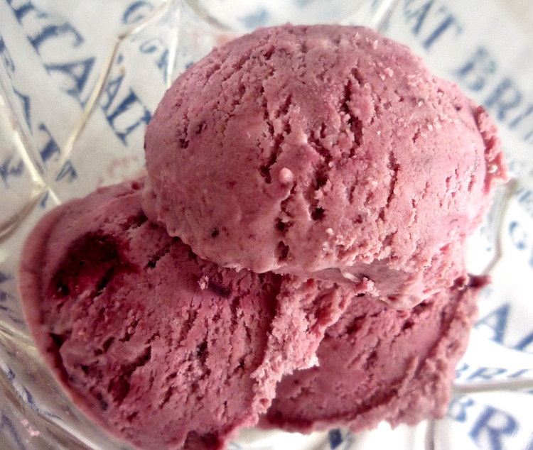 Damson Ice Cream picture