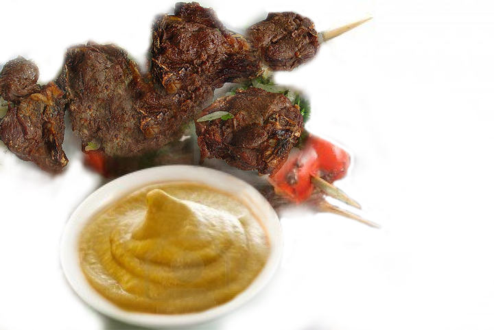 Danish Kebabs With Mustard Sauce picture