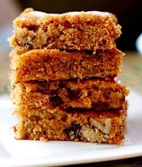 Molasses Date-Nut Bars    picture