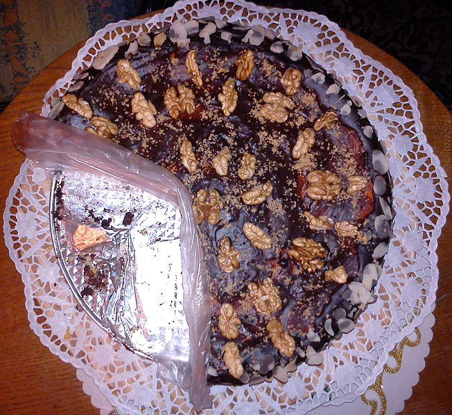 Date Walnut Cake picture