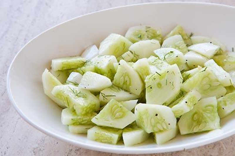 Dill Cucumber Salad picture
