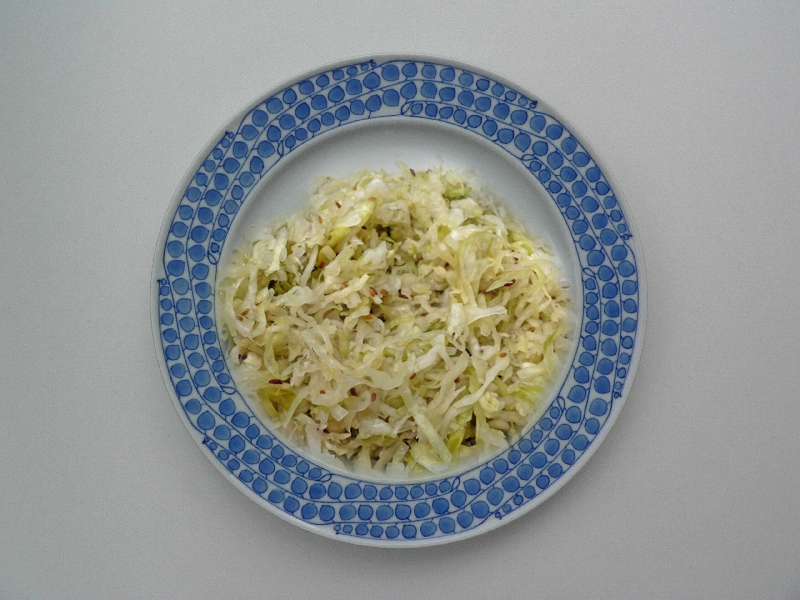Dilled Green Cabbage picture