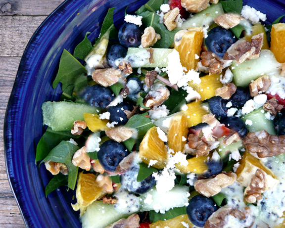 Dole Tropical Fruit And Walnut Salad picture