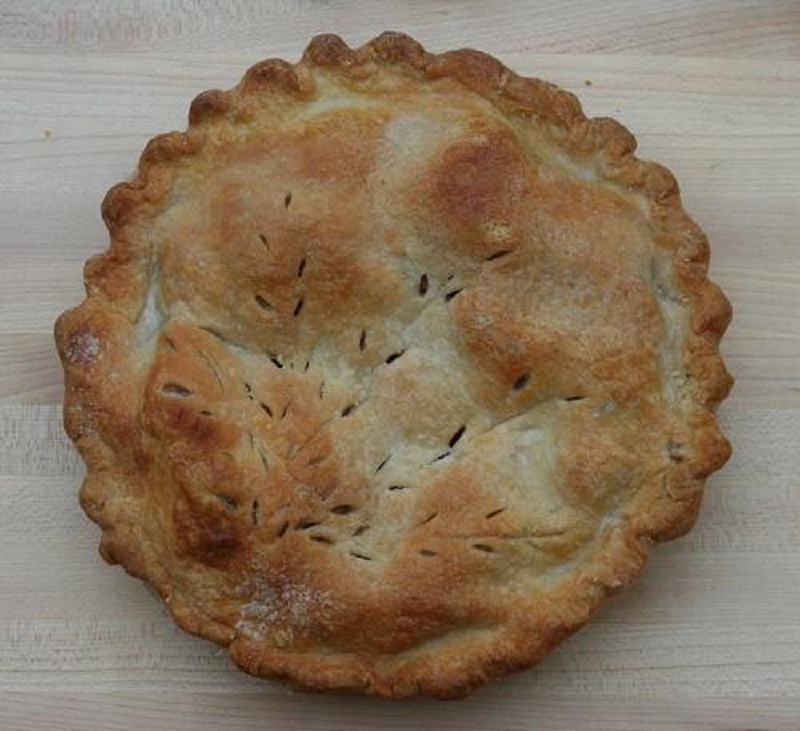 Double Crust Apple Pie picture