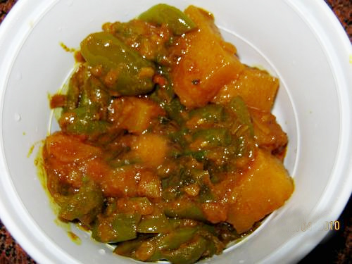 Dry Potato Curry picture