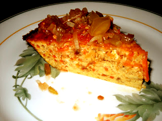 Carrot Frittata picture