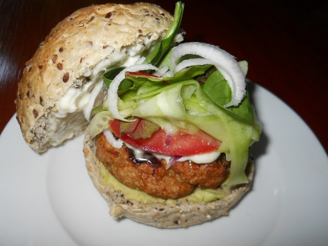 Thai Chicken Burgers picture
