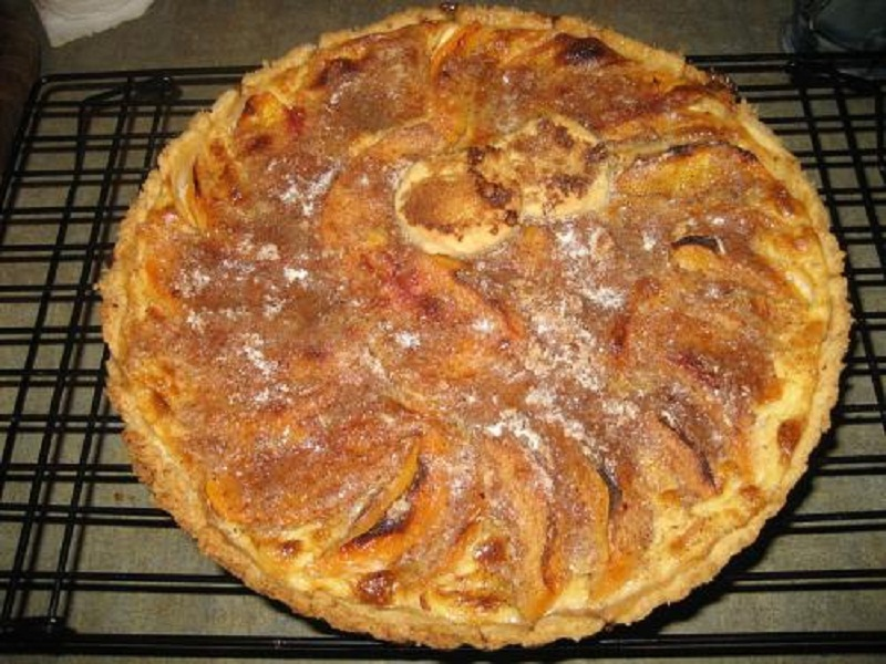 Dutch Peach Pie    picture