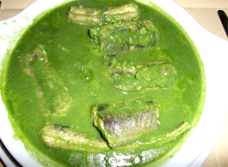 Eel In Green Sauce picture