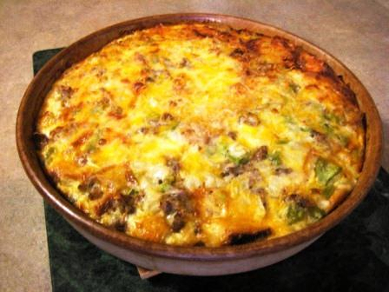 Colorful Egg Casserole picture