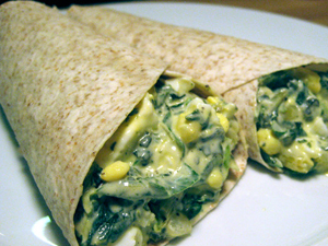 Greens Egg Salad Wrap picture