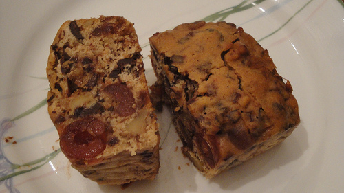 Eggless Cherry Fruit Cake picture