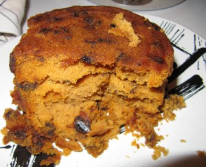Eggless Sponge Fruit Cake  picture