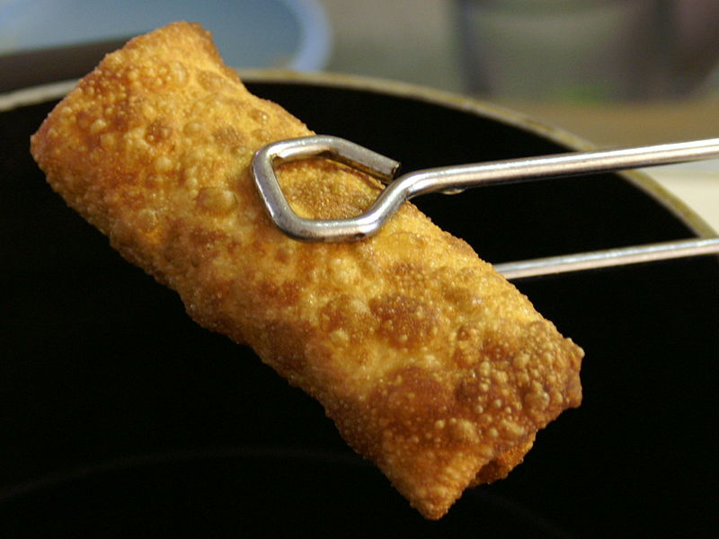 Chicken And Vegetable Egg Rolls picture