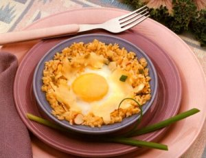 Eggs in Rice Nests picture