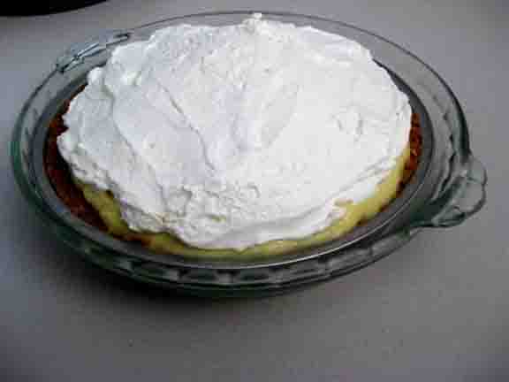 Elegant Banana Pie picture