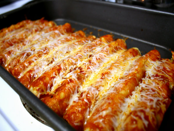 Chicken and Corn Enchiladas picture