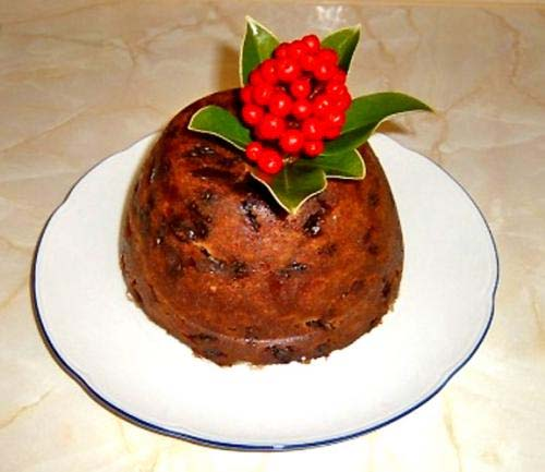 English Plum Pudding picture