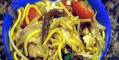 Chicken Egg Noodles picture