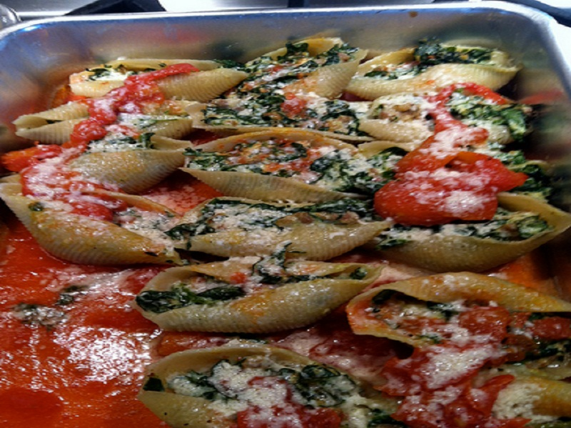 Fajita Stuffed Shells picture