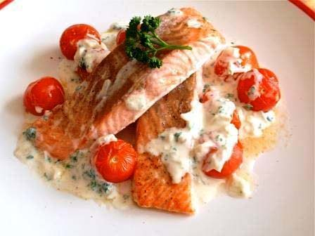 Fillets With Shrimp Sauce picture