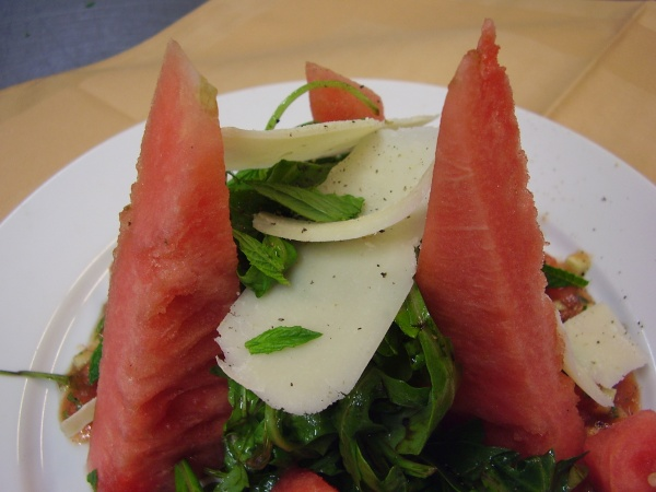 Watermelon & Arugula Salad picture