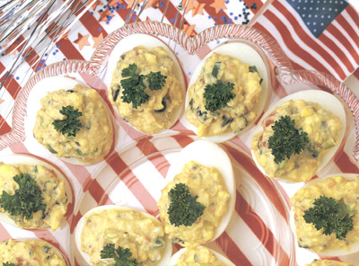 Firecracker Deviled Eggs picture