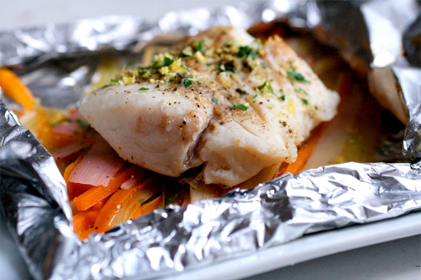 Fresh Tuna Baked In Foil picture
