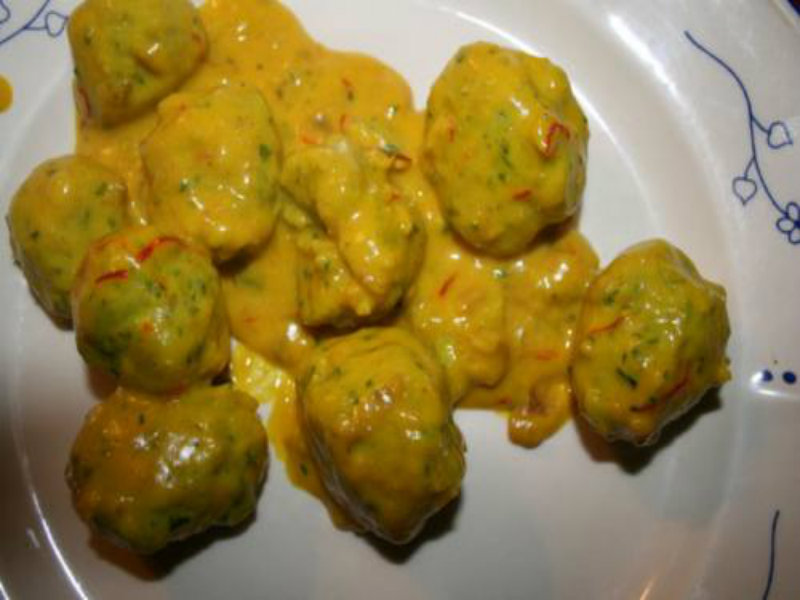 Fish Balls in Rich Cream Sauce picture