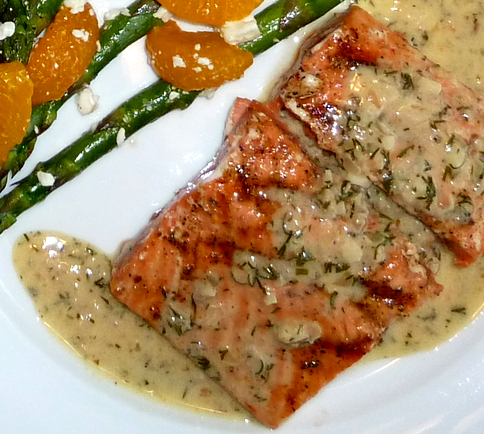Fish Loaf With Dill Sauce picture