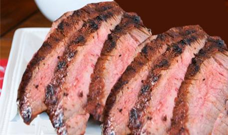 Hickory Smoked Flank Steak picture