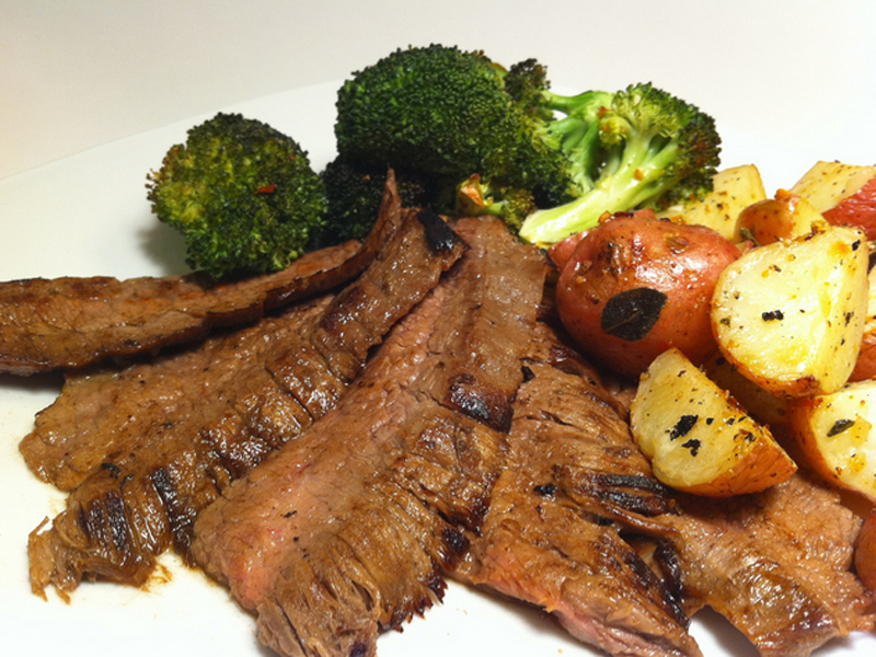 Broiled Flank Steak picture