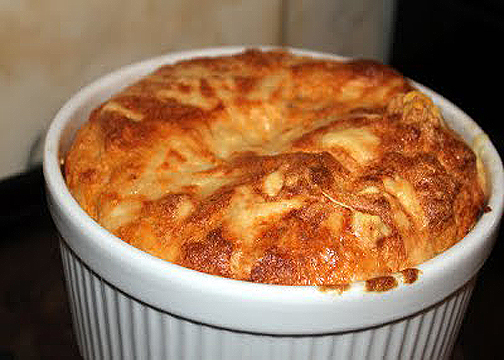Cheese And Salmon Souffle picture