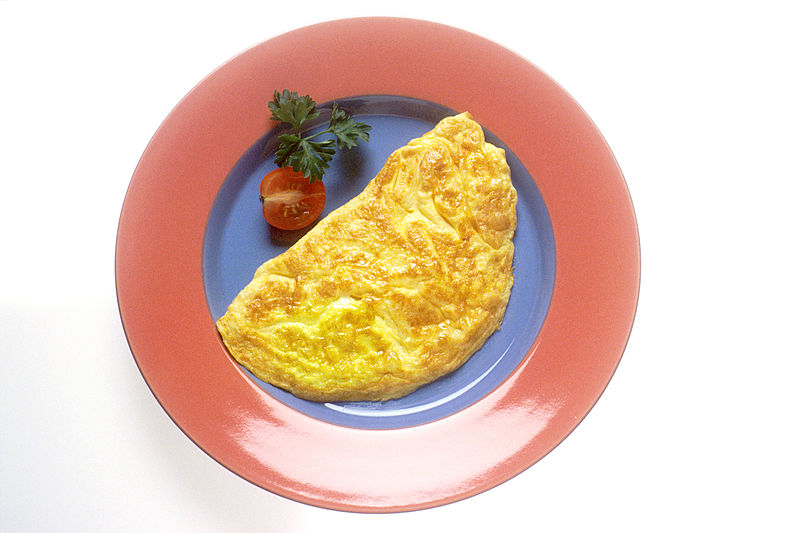 Microwave No Fuss Cheese Omelet picture