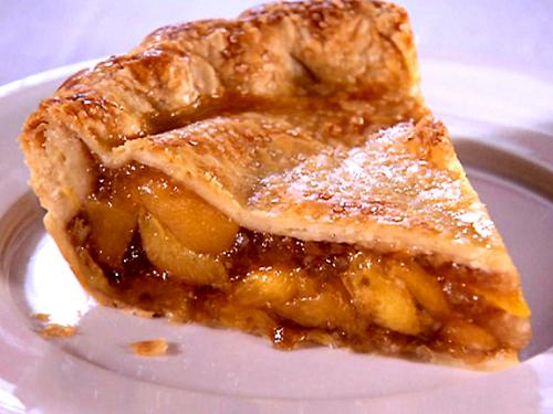 French Peach Pie picture